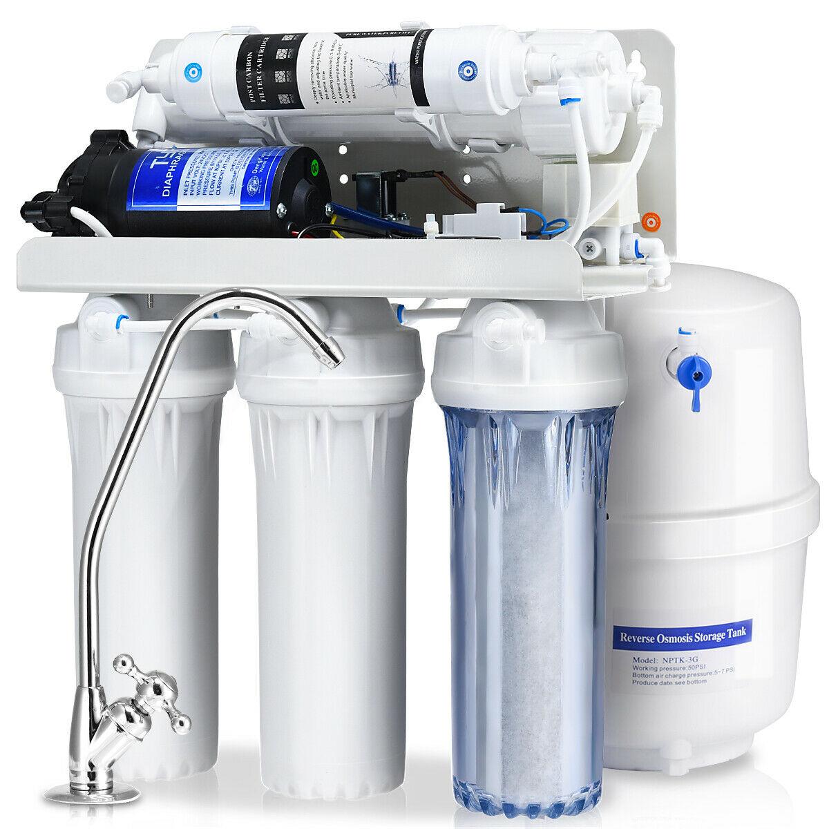 vandens filtrai